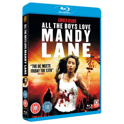 ALL THE BOYS LOVE MANDY LANE blu-ray front cover