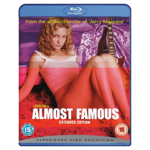 ALMOST FAMOUS(extended edition) blu-ray front cover