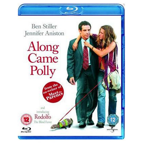 ALONG CAME POLLY blu-ray front cover