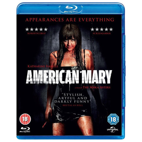 AMERICAN MARY blu-ray front cover
