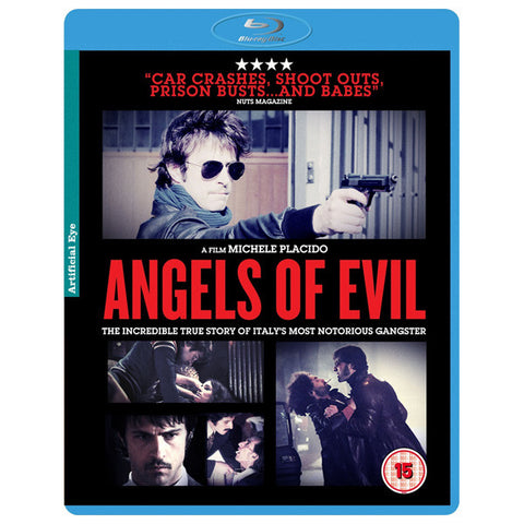 ANGEL OF EVIL blu-ray front cover