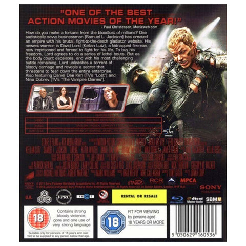 ARENA blu-ray back cover