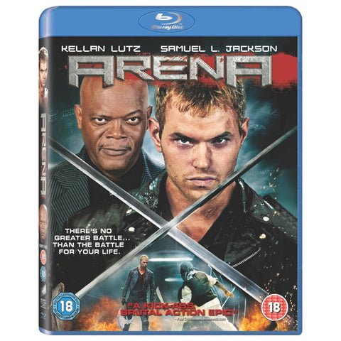 ARENA blu-ray front cover