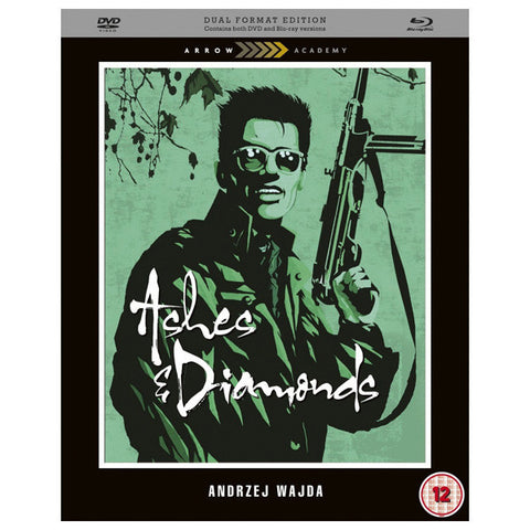 ASHES AND DIAMONDS blu-ray front cover