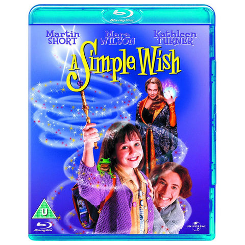 A SIMPLE WISH blu-ray front cover