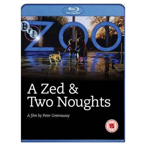 A ZED AND TWO NOUGHTS blu-ray front cover