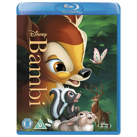 Bambi blu-ray front cover