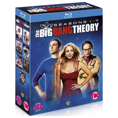 Big Bang Theory Seasons 1-7 blu-ray front cover