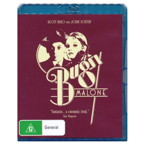 BUGSY MALONE blu-ray front cover