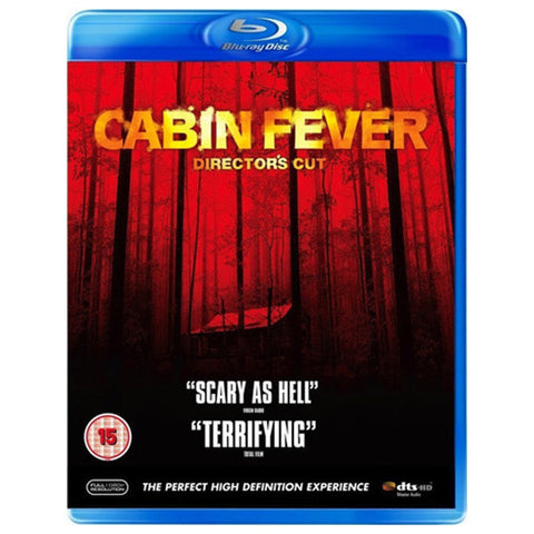 CABIN FEVER blu-ray front cover
