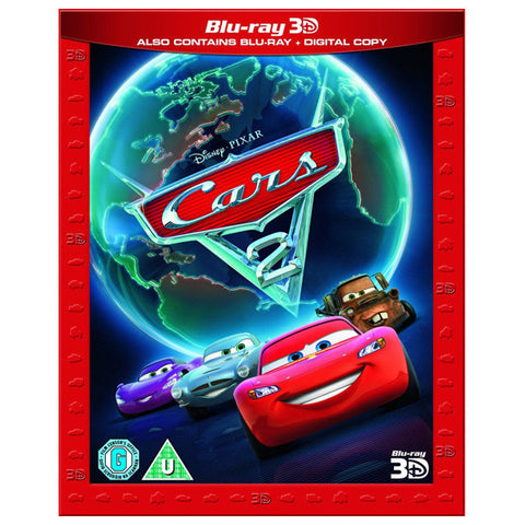 cars 2 3D front cover