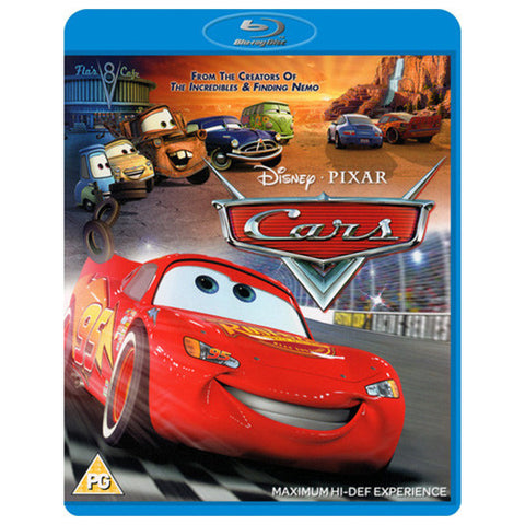 CARS blu-ray front cover