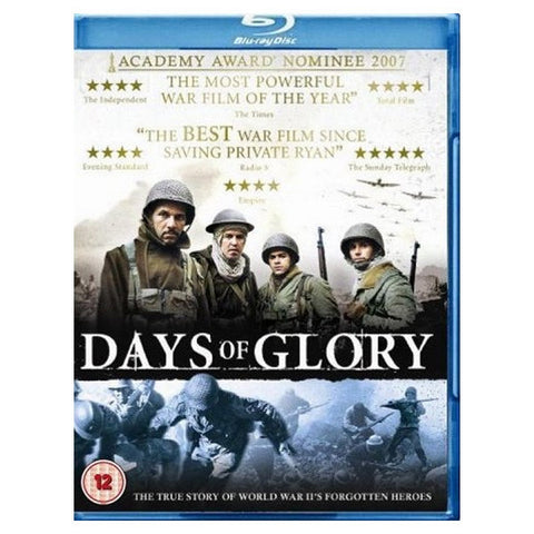 DAYS OF GLORY blu-ray front cover