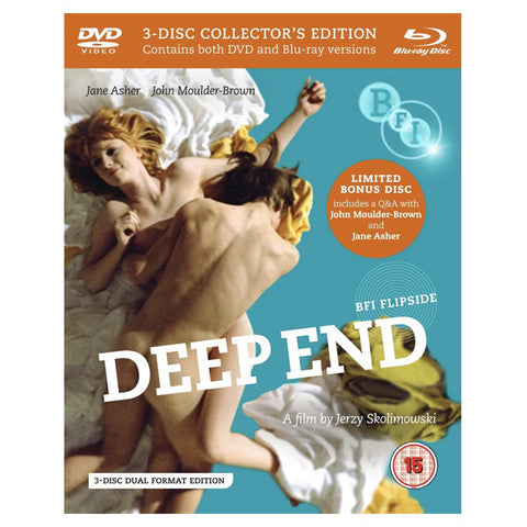 DEEP END blu-ray front cover