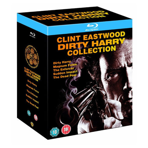 DIRTY HARRY COLLECTION blu-ray front cover
