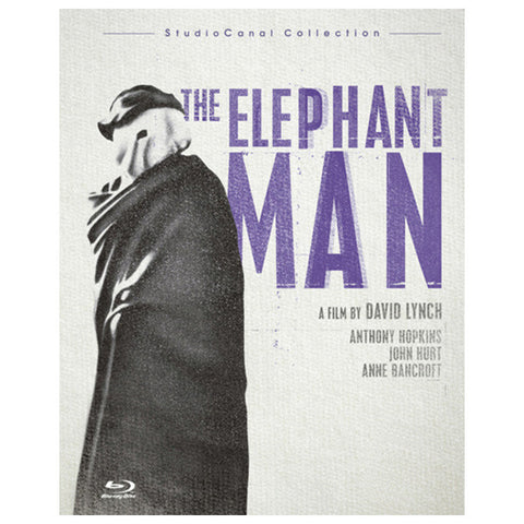 THE ELEPHANT MAN blu-ray front cover