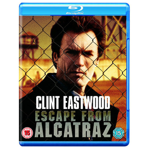 Escape from Alcatraz blu-ray front cover