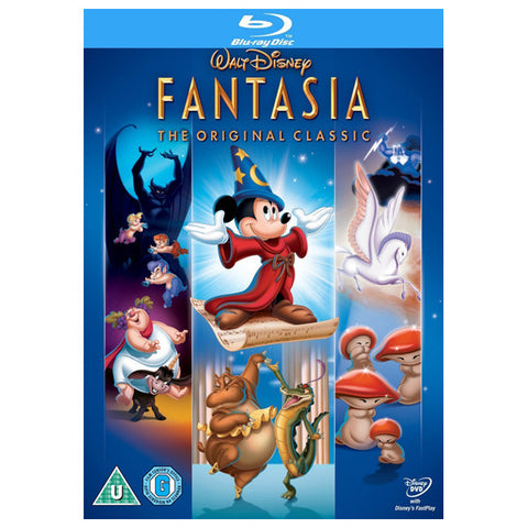 FANTASIA: THE ORIGINAL CLASSIC blu-ray front cover