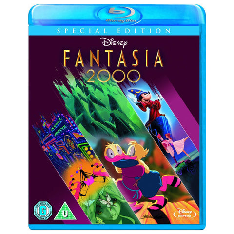 FANTASIA 2000 blu-ray front cover