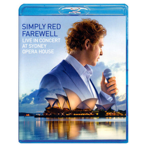 2010 FAREWELL SIMPLY RED blu-ray front cover