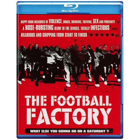 THE FOOTBALL FACTORY blu-ray front cover