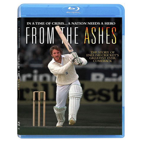 FROM THE ASHES blu-ray front cover