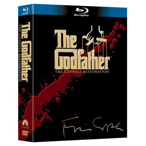 THE GODFATHER blu-ray front cover