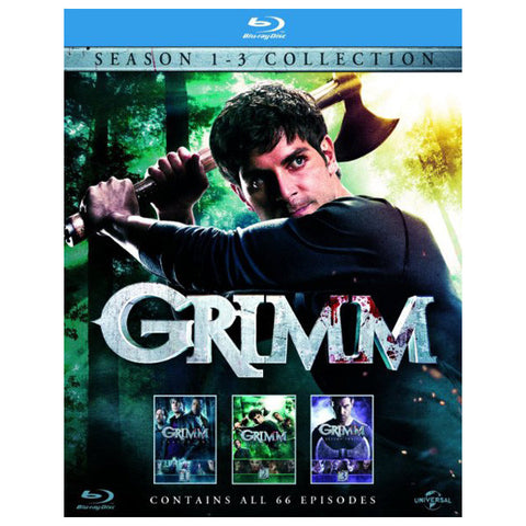 grimm: seasons 1-3 front cover