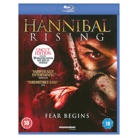 HANNIBAL RISING blu-ray front cover
