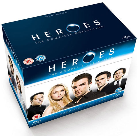 Heroes The Complete Collection blu-ray front cover