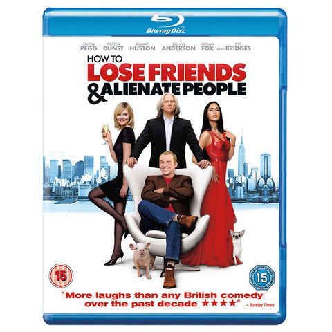 HOW TO LOSE FRIENDS AND ALIENATE PEOPLE blu-ray front cover