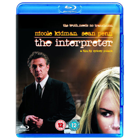 THE INTERPRETER blu-ray front cover