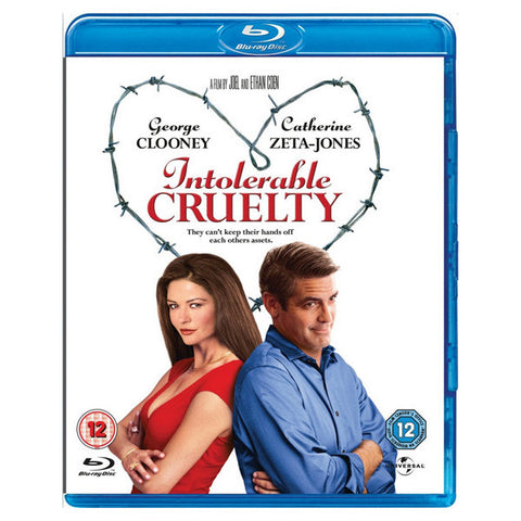 INTOLERABLE CRUELTY blu-ray front cover