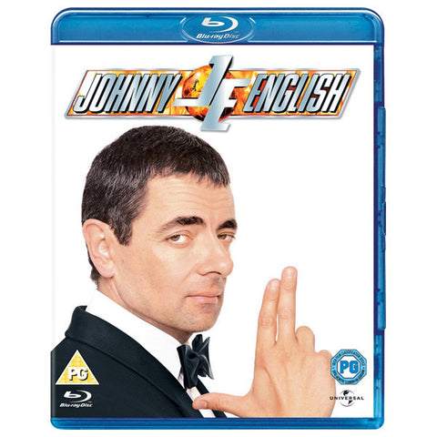 JOHNNY ENGLISH blu-ray front cover