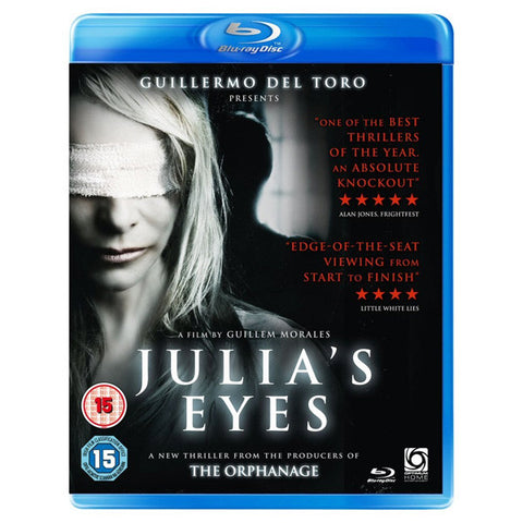 JULIA'S EYES blu-ray front cover
