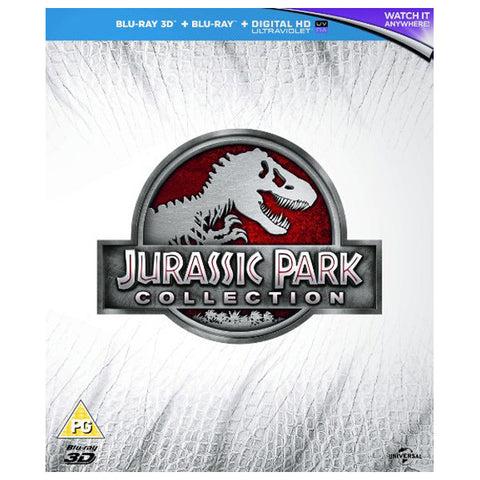 jurassic park collection front cover