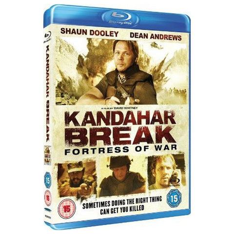 KANDAHAR BREAK: THE FORTRESS OF WAR blu-ray front cover