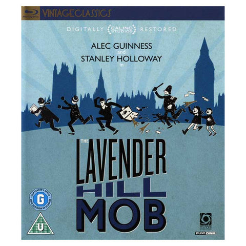 THE LAVENDER HILL MOB blu-ray front cover