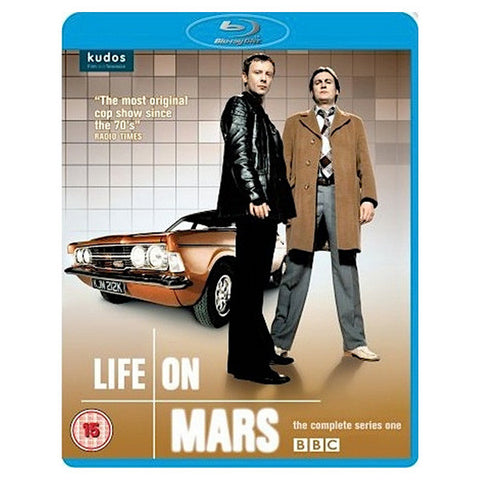 LIFE ON MARS SERIES 1 blu-ray front cover