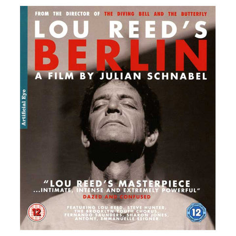 LOU REED'S blu-ray front cover