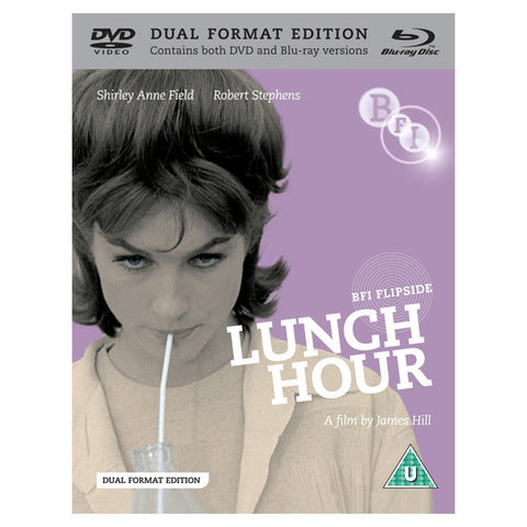 LUNCH HOUR blu-ray front cover