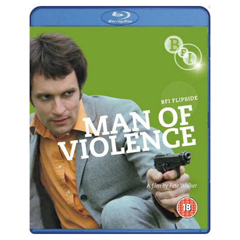 MAN OF VIOLENCE / THE BIG SWITCH blu-ray front cover