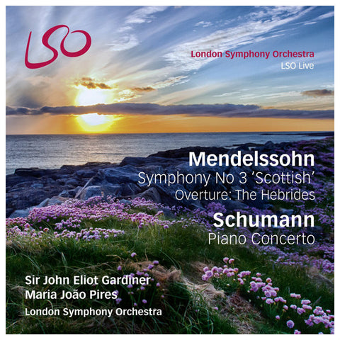 Mendelssohn Symphony  No.3 blu-ray front cover