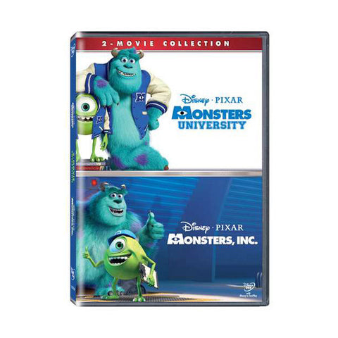 monsters inc. / monsters university blu-ray