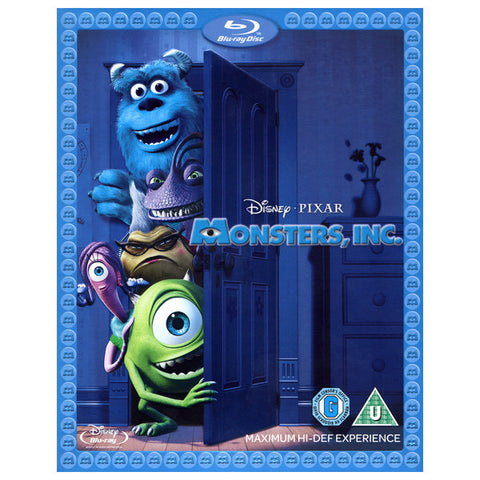 MONSTERS INC blu-ray front cover