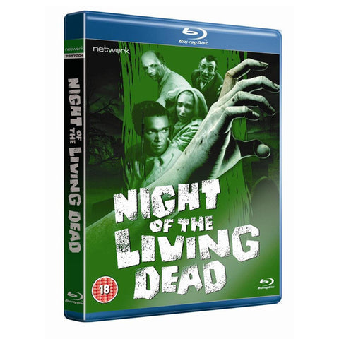 NIGHT OF THE LIVING DEAD blu-ray front cover