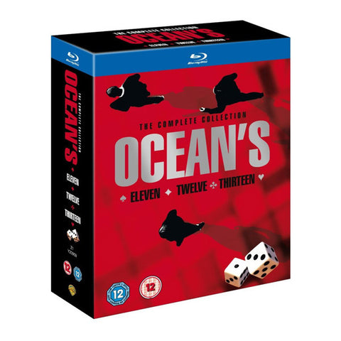 OCEAN'S TRILOGY blu-ray front cover