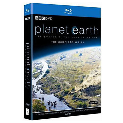 PLANET EARTH blu-ray front cover