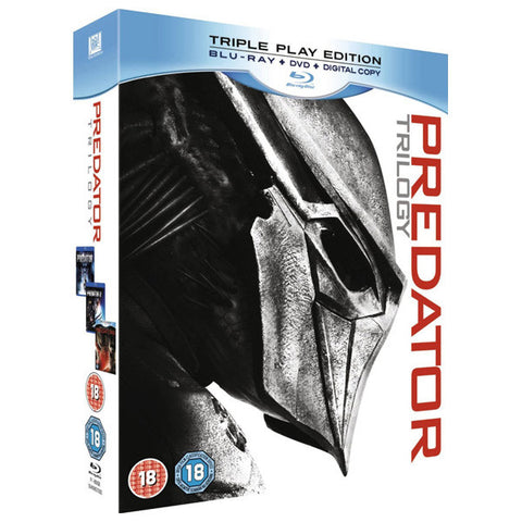 Predator Trilogy blu-ray front cover