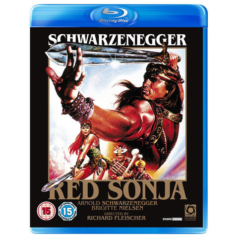 RED SONJA blu-ray front cover